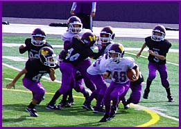 Waukee Youth Football Action