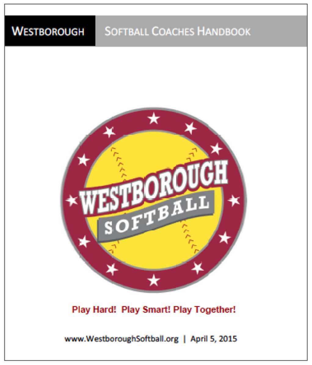 Westborough Softball Coaches Handbook