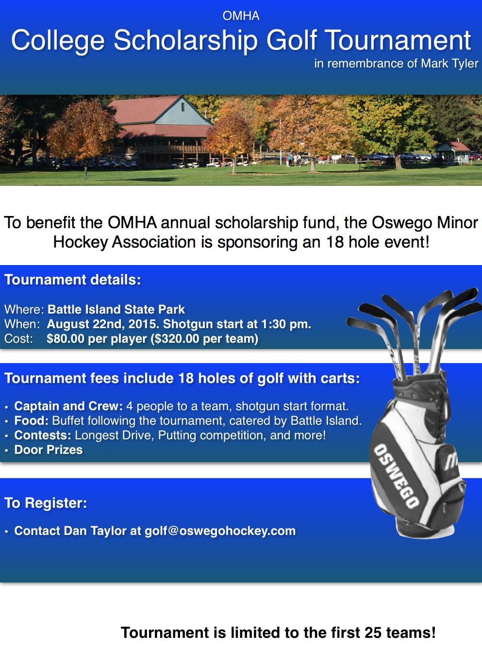 Omha Golf Tournament