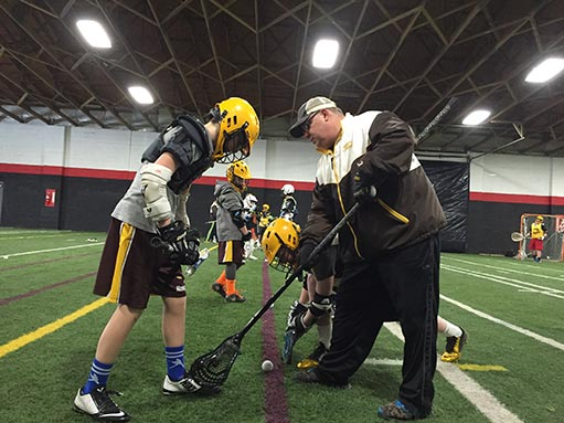 Knights Lacrosse Indoor Training 2016