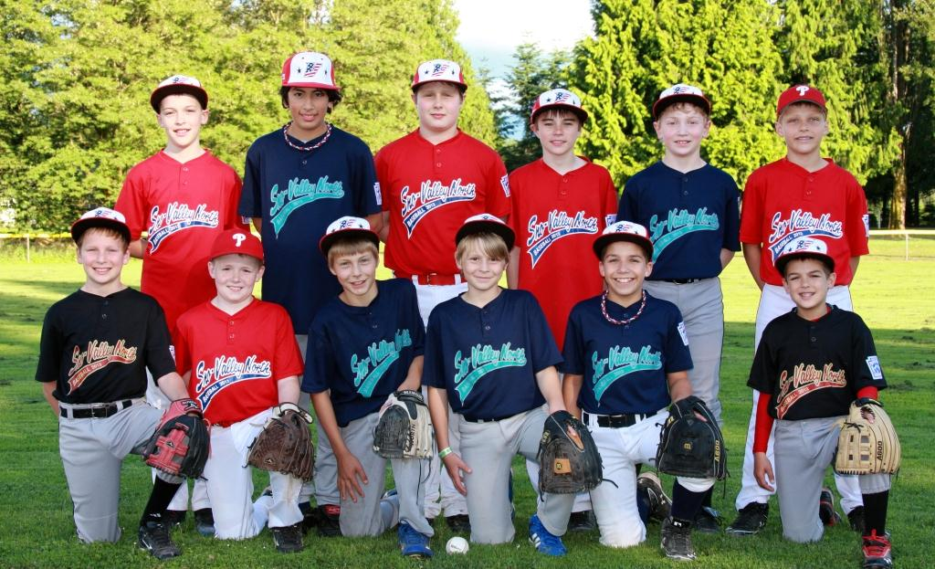 2012 SNLL 11-year-old All-Star Team