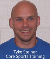 Tyke Steiner, co-owner of Core Sports Training in Altoona, PA