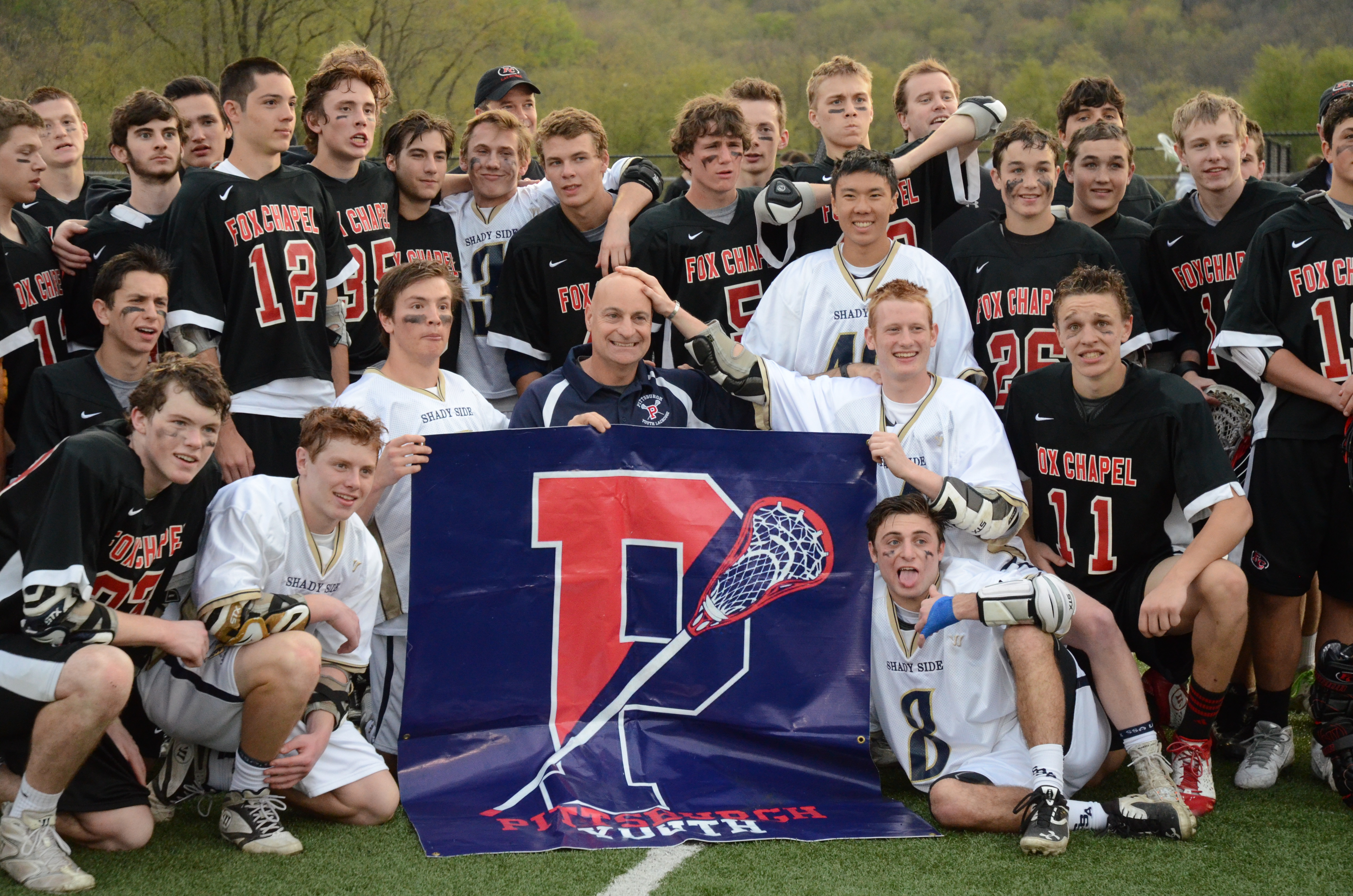 SSA and FC Lacrosse layers with Mike Concordia, May 7, 2014