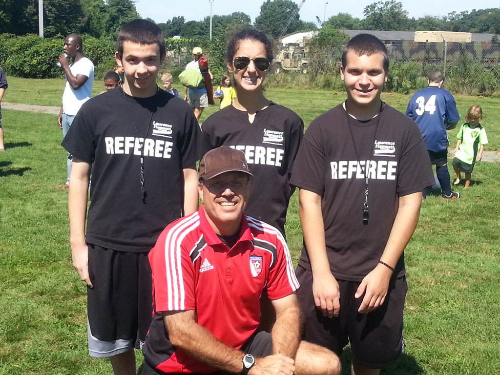 Lawrence Recreation Referee Team with Kirk LeCompte