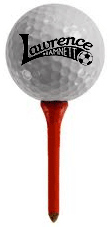 Lawrence Hamnett Golf Ball on Tee