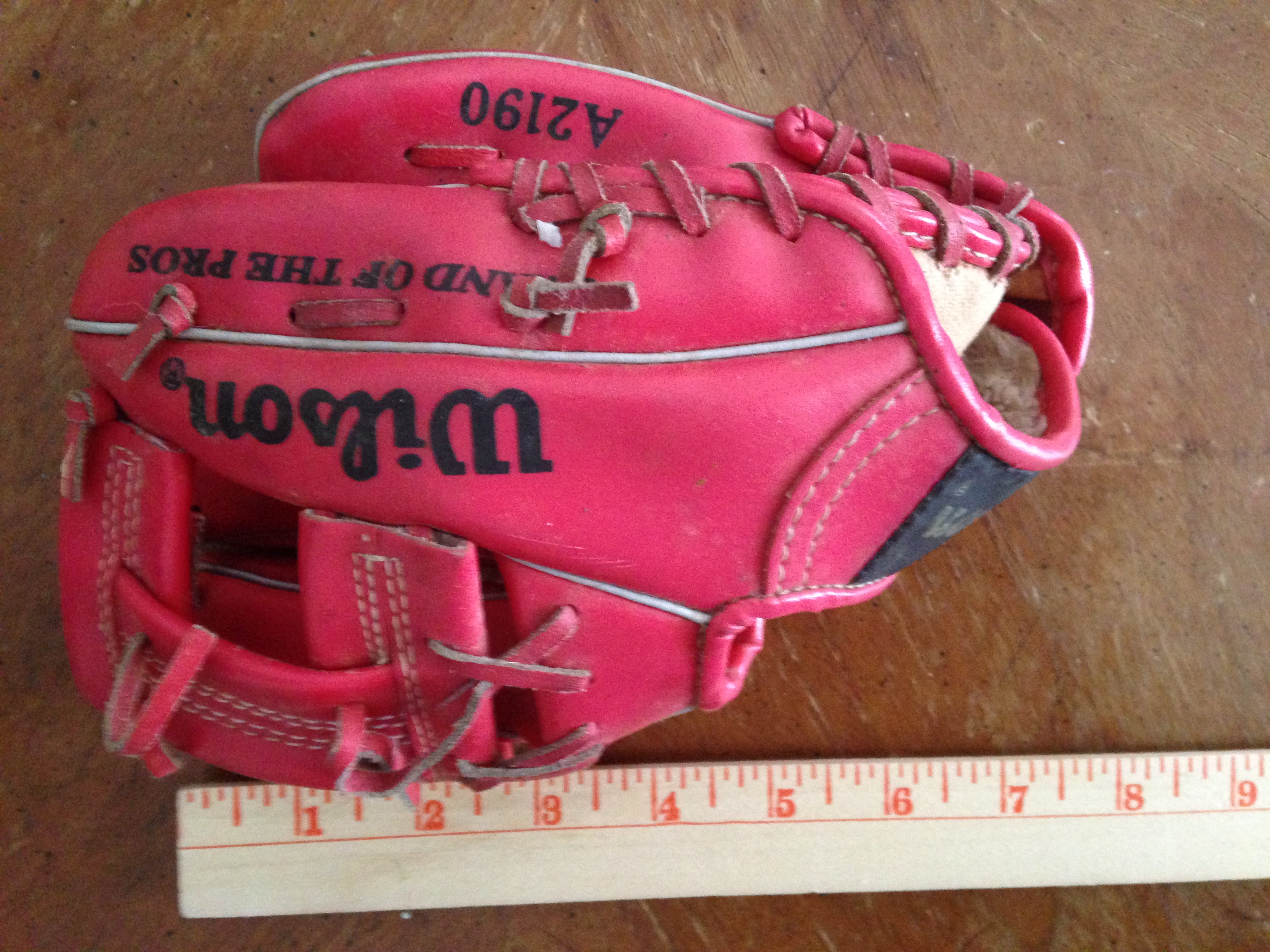 Little pink glove