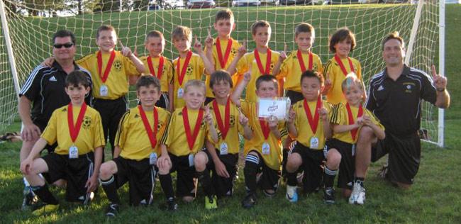 2011 U9 Boys Pocono Blast Champions