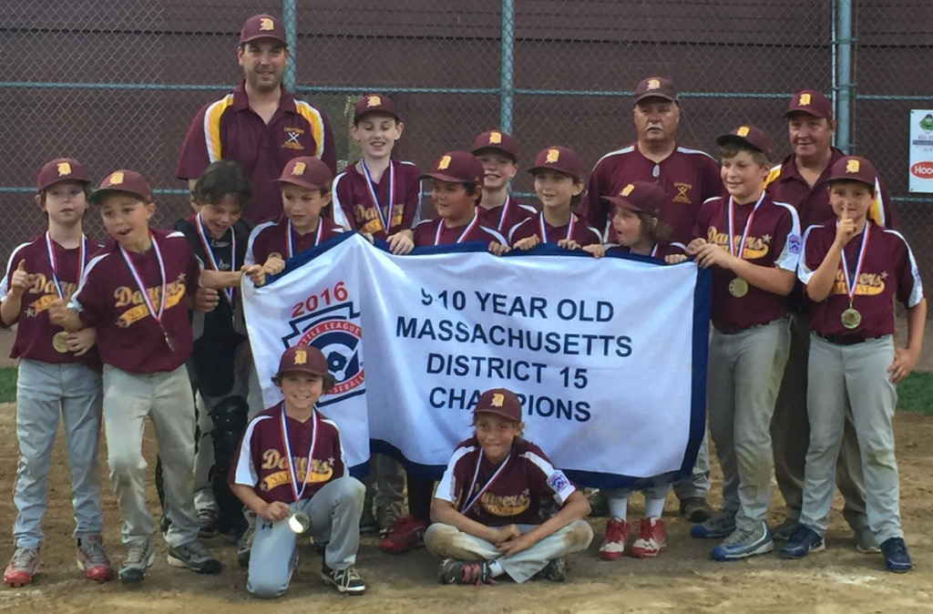 DNLL 10 Year Old All-Stars win District 15 Championship