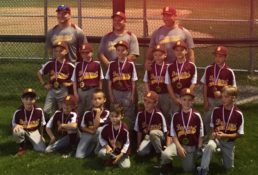 DNLL 8 Year Old All-Stars win Manchester Essex Tournament