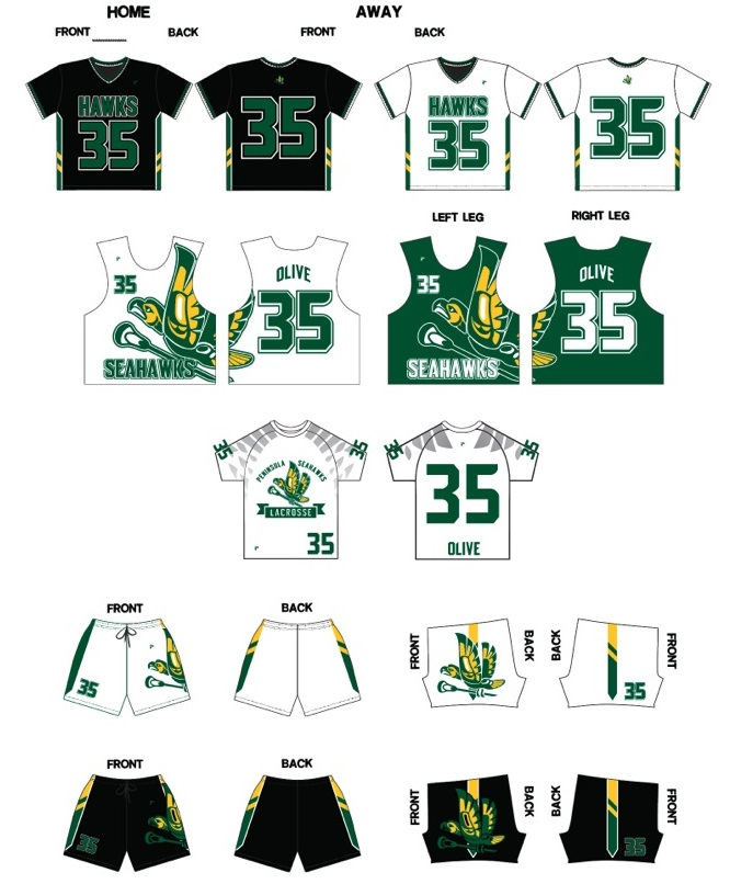 2015 High School and Youth Uniforms