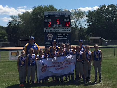 Congratulations HK Girls - 10U Softball Champions!
