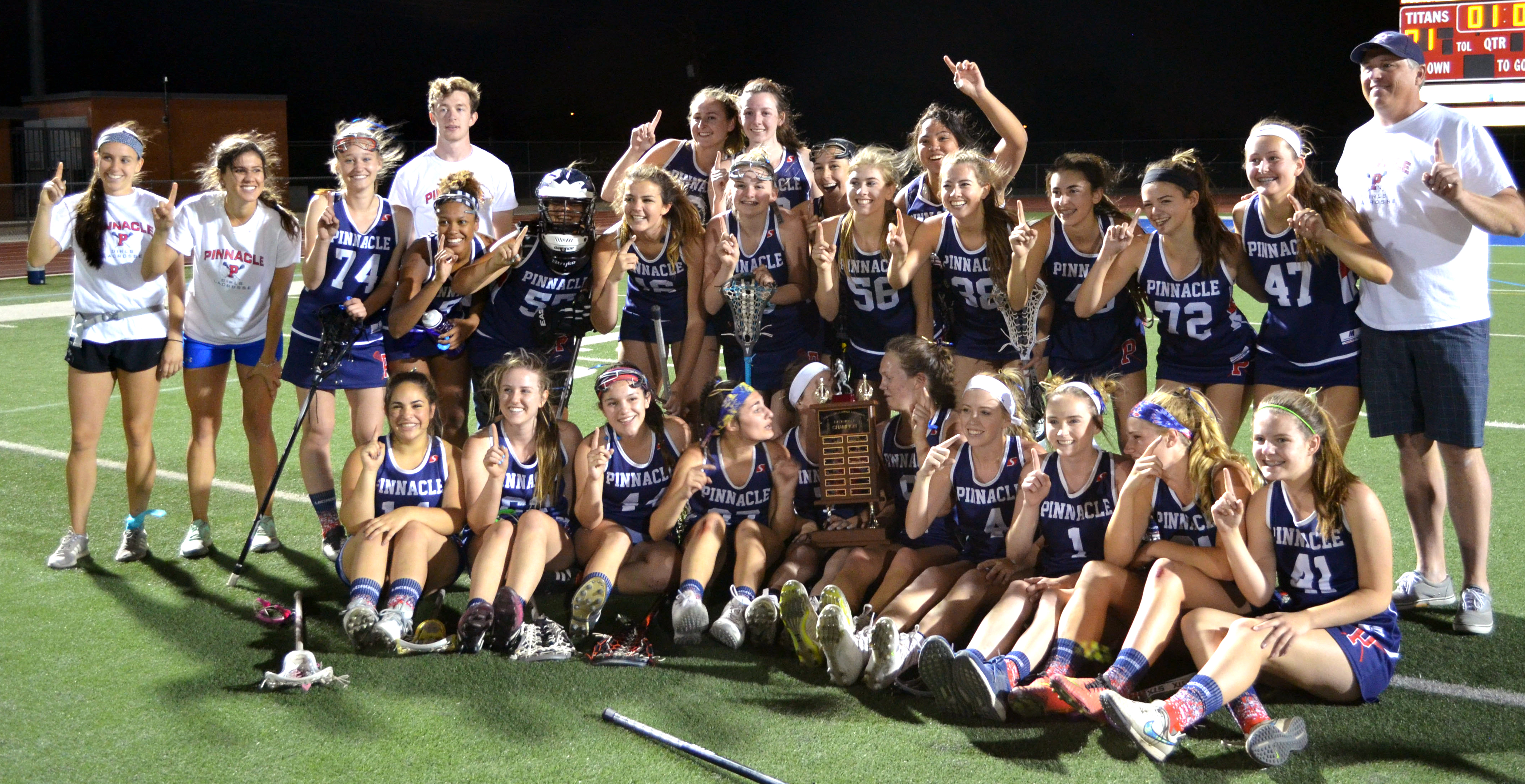 Pinnacle Lacrosse 2017 Champions
