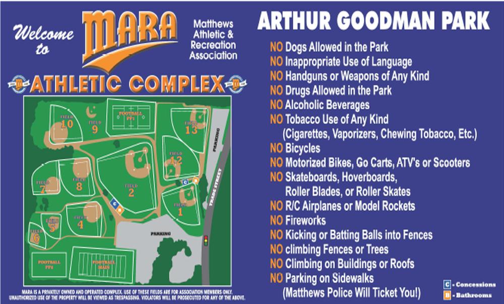 MARA Park Map