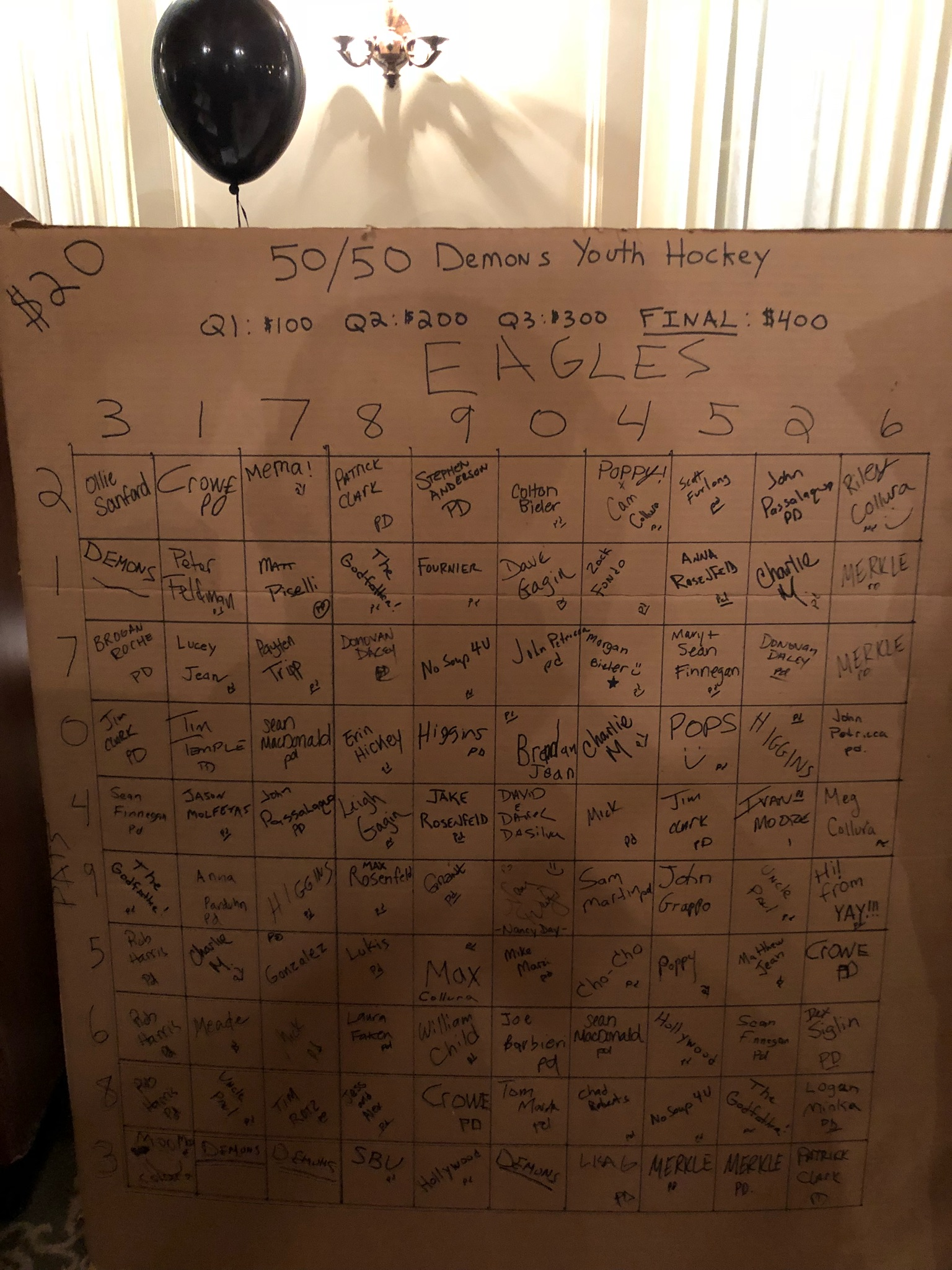 Squares Board