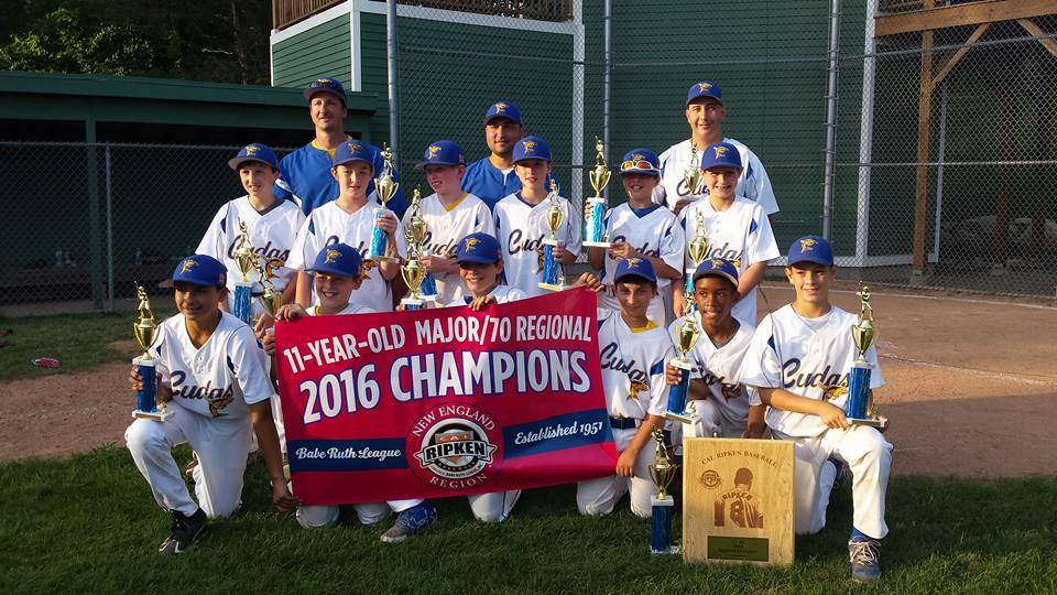 2016 11 Year old Cal Riken Regional Champs