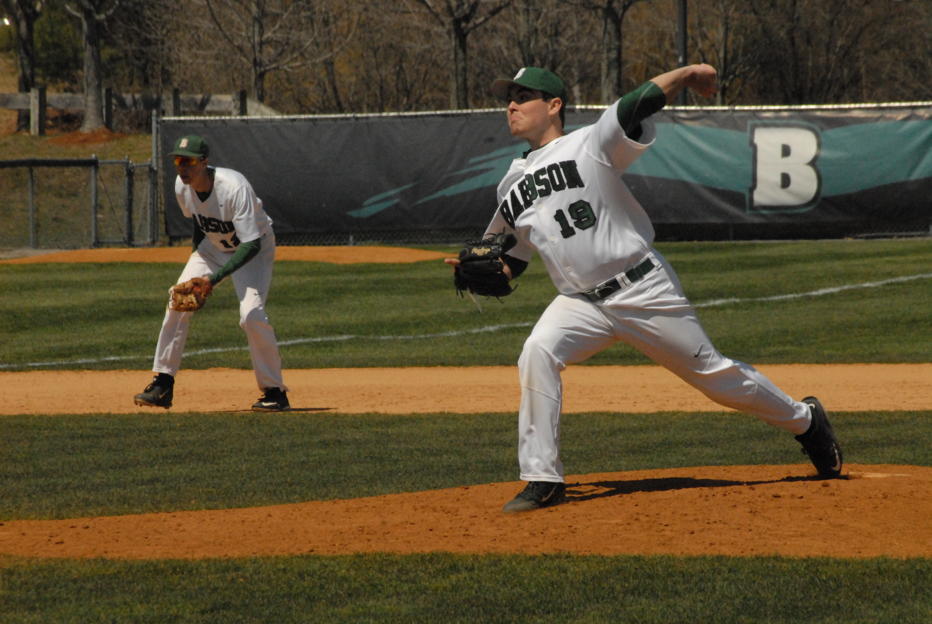 Genaro Pitches at Babson College