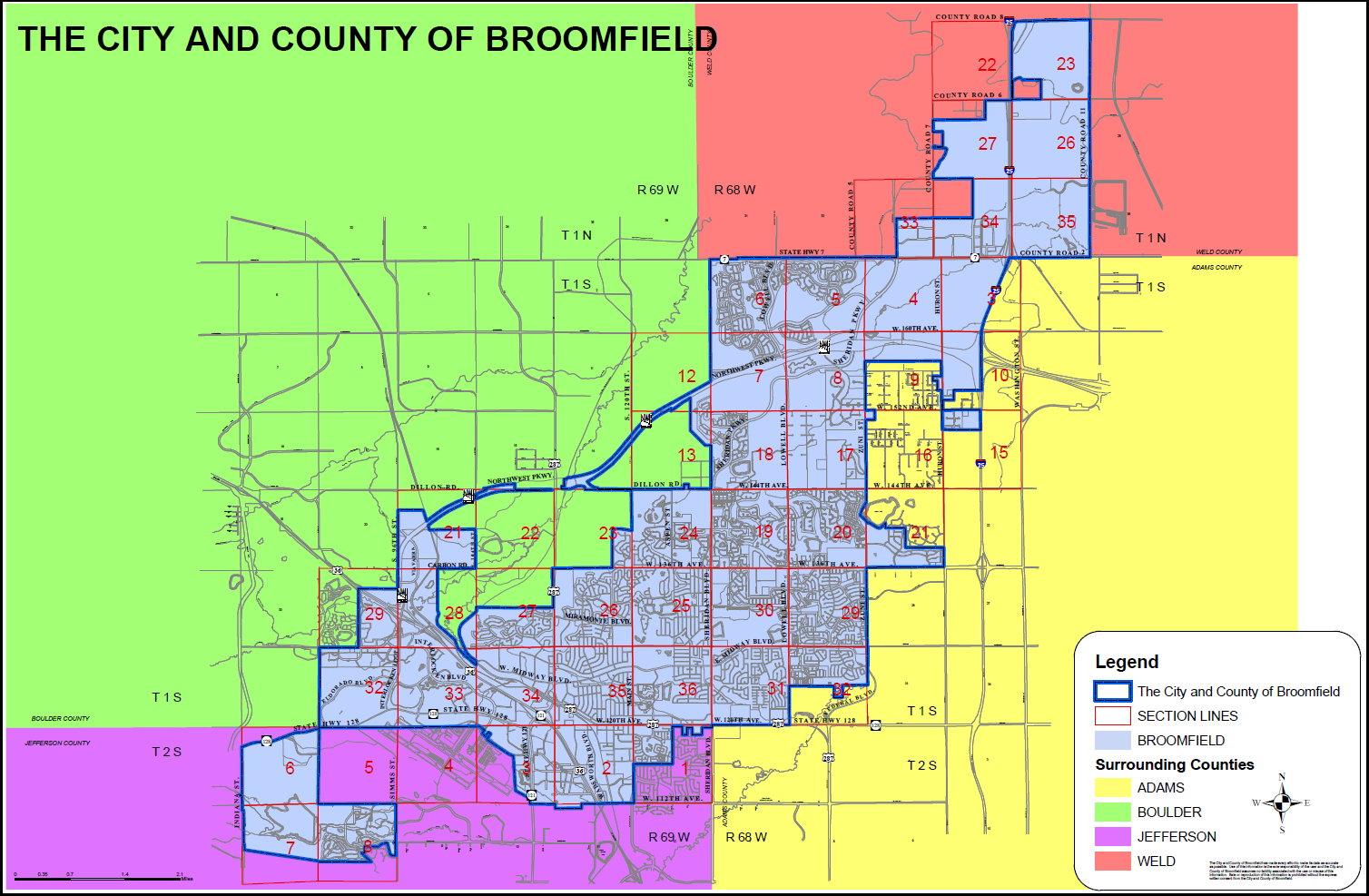 Resident Boundaries for Broomfield