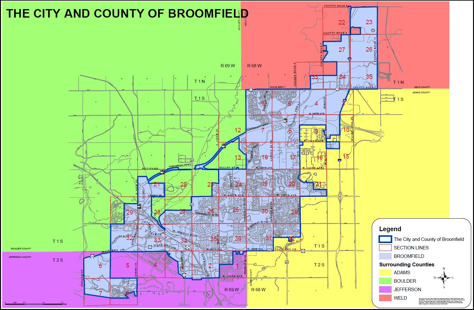 Resident Boundaries for Broomfield