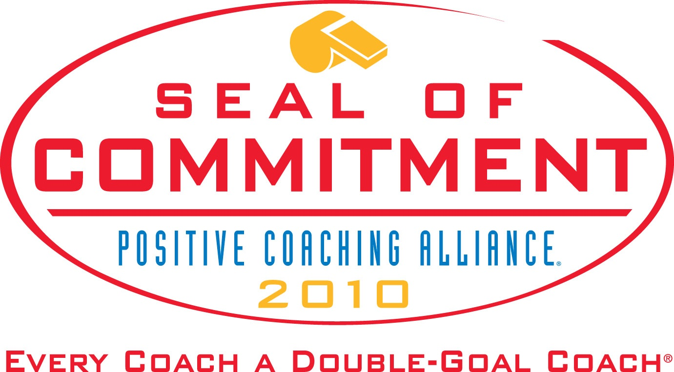 Positive Coaching Alliance Seal of Commitment