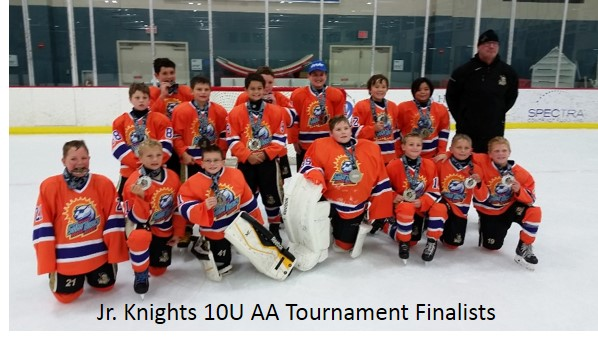 Jr. Knights 10U AA Finalists