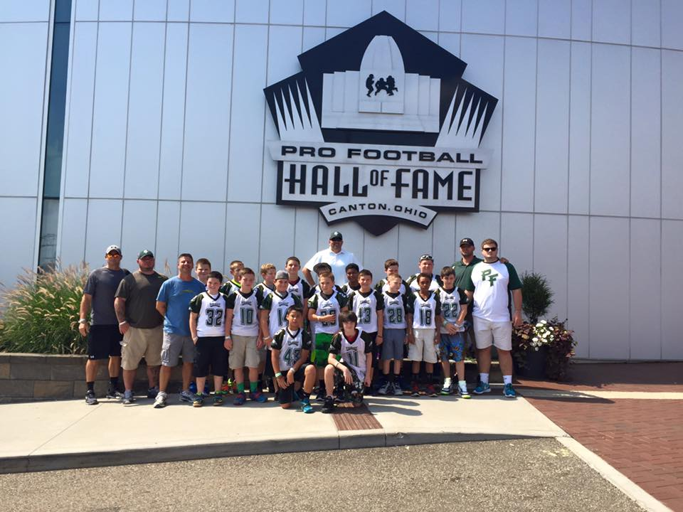 Southern Maryland team represents at Hall of Fame