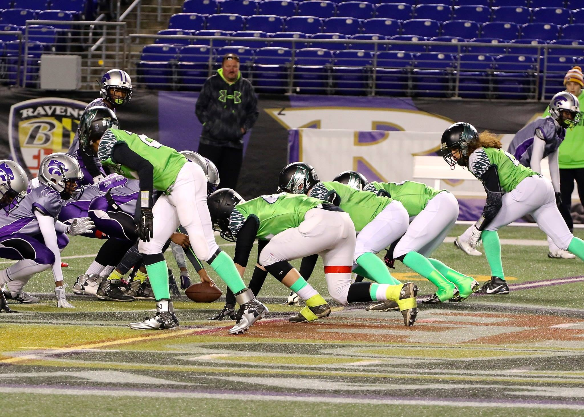 Prince Frederick Eagles - Maryland State Championships at Ravens Stadium