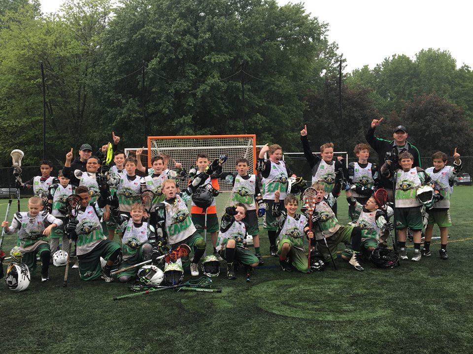 U11 Lax Lacrosse Champions Southern Maryland