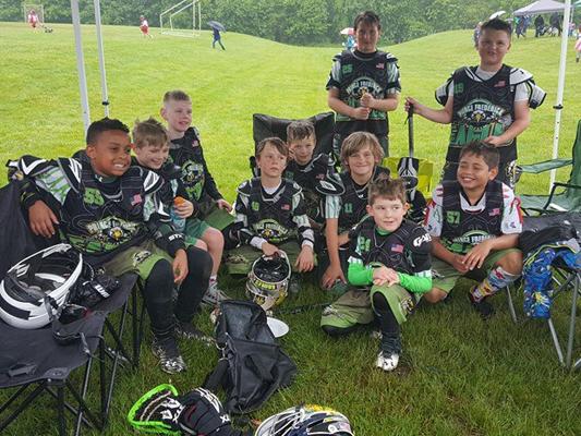 U9 Lax Lacrosse Champions Southern Maryland