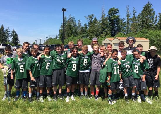 Skyline Lacrosse 5/6 Washington Cup Finalists