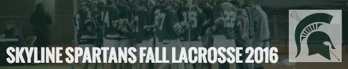 Skyline Spartans Fall Lacrosse Registration