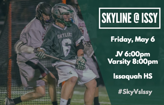 Skyline Lacrosse at Issaquah Friday May 6 2016