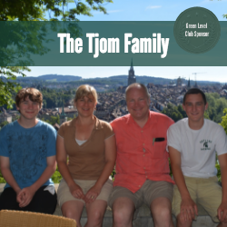 The Tjom Family, Skyline Spartans Lacrosse Green Level Sponsors