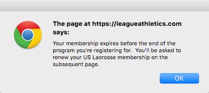 USL membership Required