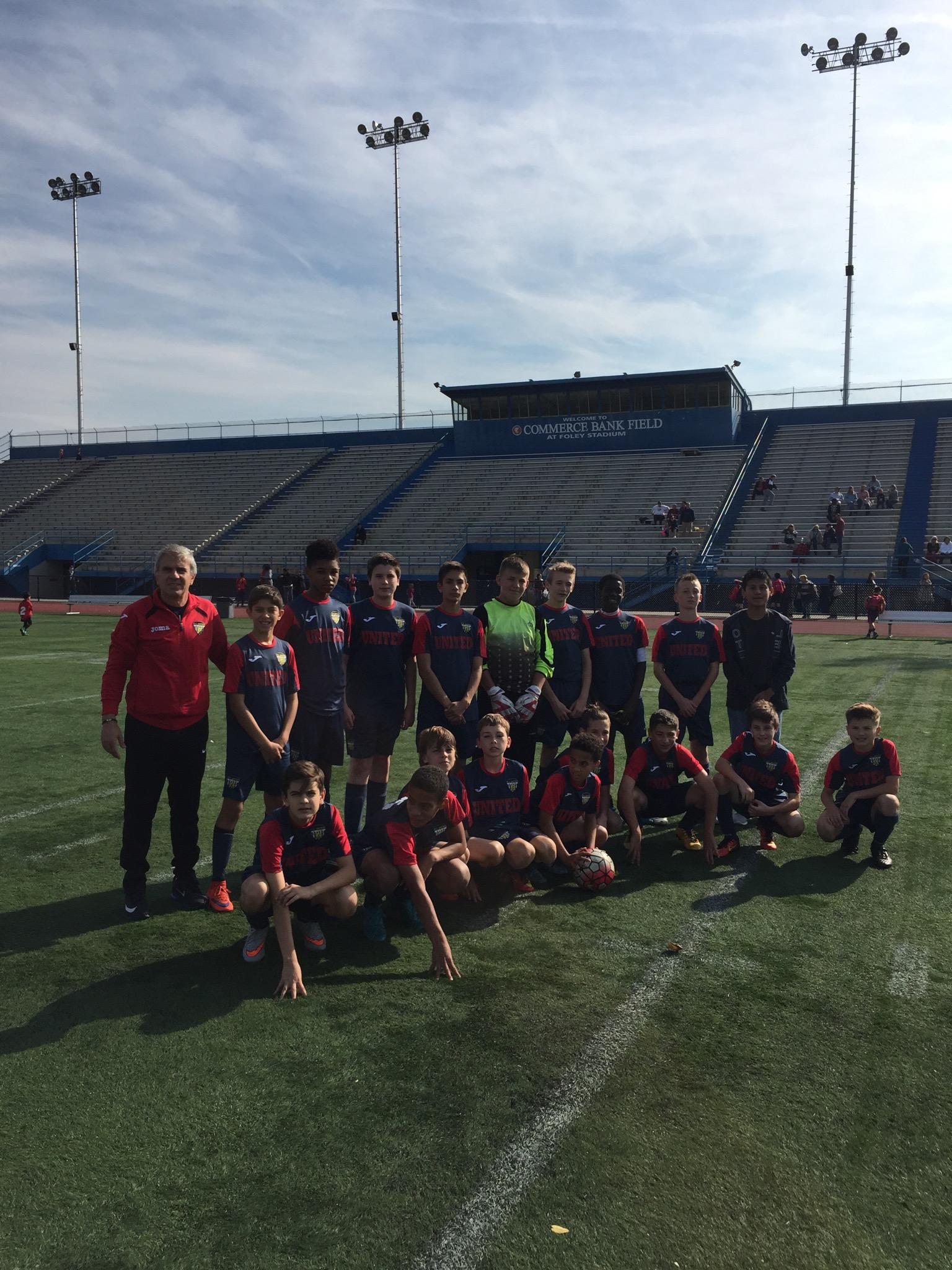 Team at Foley Stadium