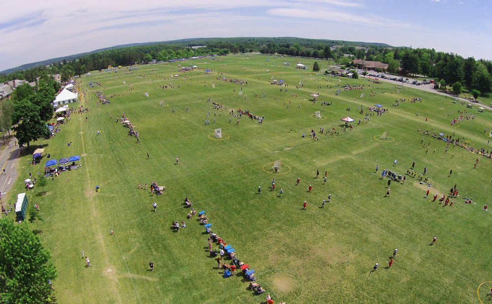 Birds Eye View of the 2015 Jamboree