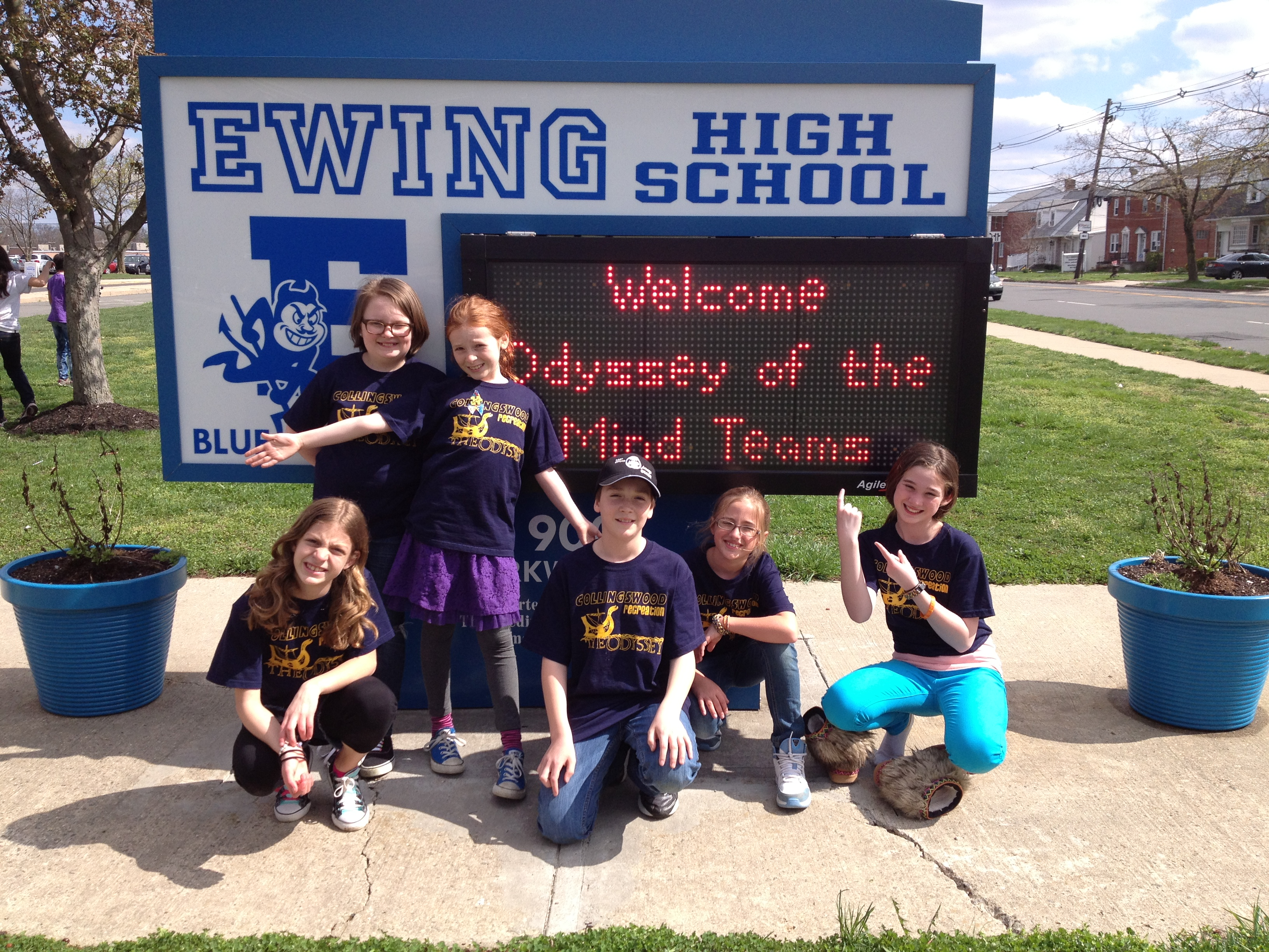 Our Pet Project Team traveled to Ewing to compete against teams from all over the state.