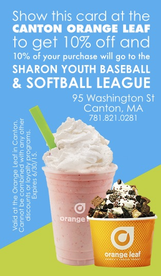 Canton Orange Leaf SYBSA Discount Card