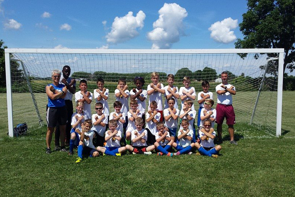 2015-16 WHU Camp U11-U12 Group