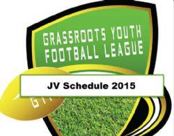 JV GYFL Schedule