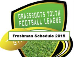Freshman GYFL Schedule