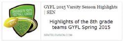 Spring 8th Grade GYFL Highlights