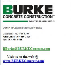 Burke Concrete Construction