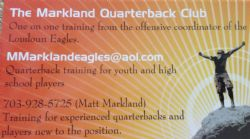 The Markland Quarterback Club