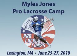 3 - Myles Jones Pro Lacrosse Camp