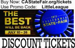 Little League State Fair Tickets