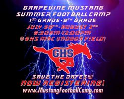 2018 GHS Youth Football Camps