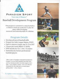Paradigm sports