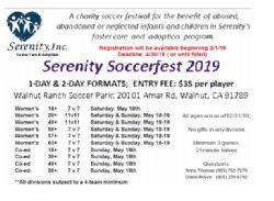 Serenity Soccer Fest