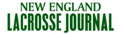New England Lacrosse Journal