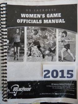 X- 2015 Umpire Manual